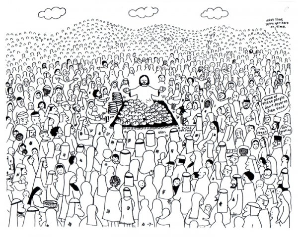 Action Story: The Feeding of the 5000 | Children's Ministry